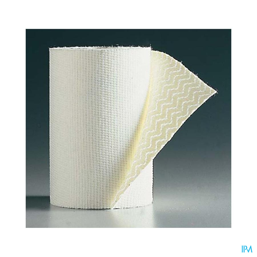 Biplast Drukverband Adh Wit 8cmx2,5m 1