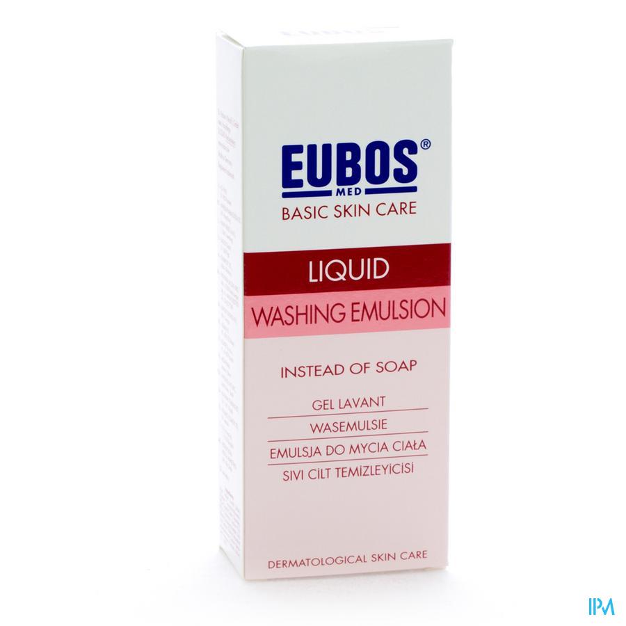 Eubos Savon Liquide Rose 200ml