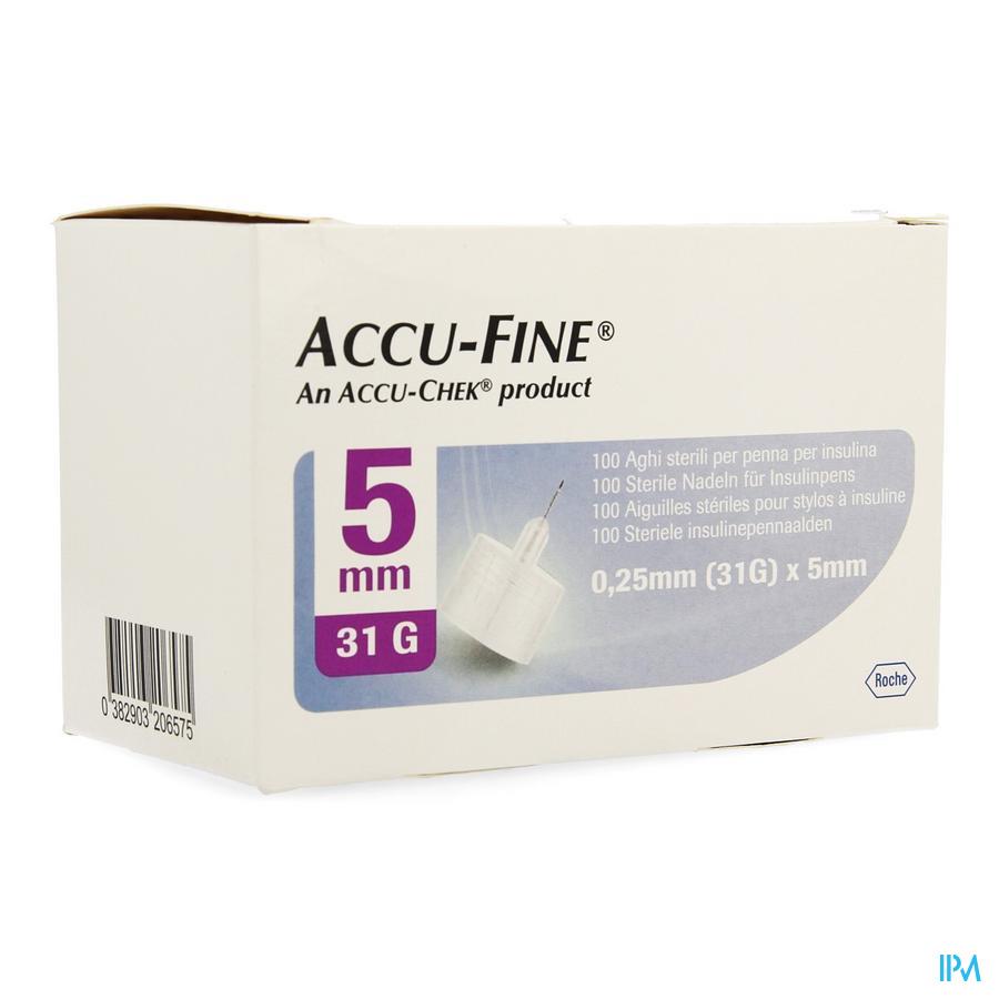Accu Fine 31g 5mm 100