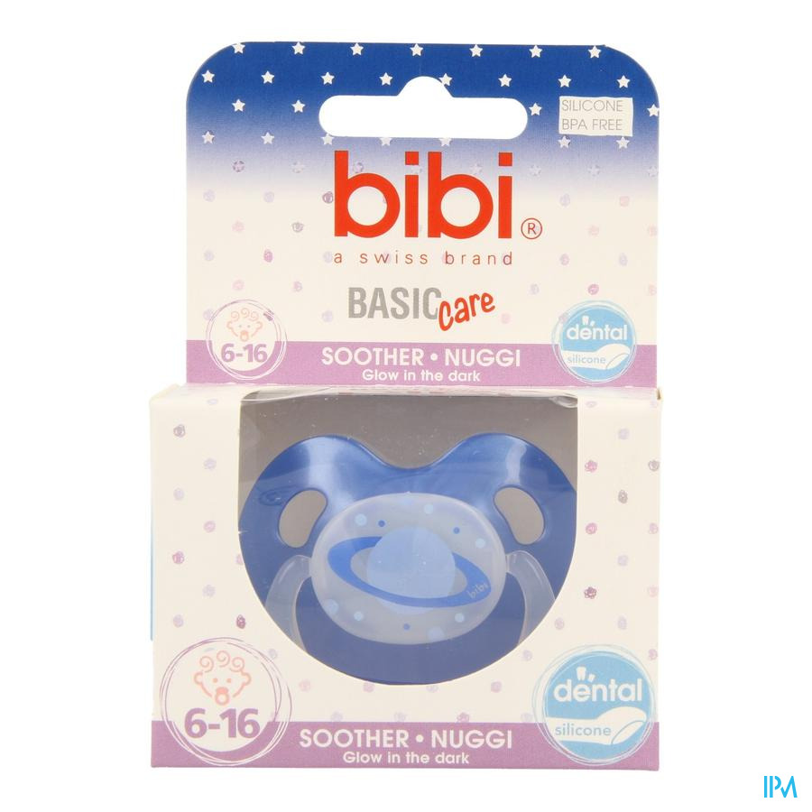 Bibi Fopspeen Dental Glow Basic Care 6-16m
