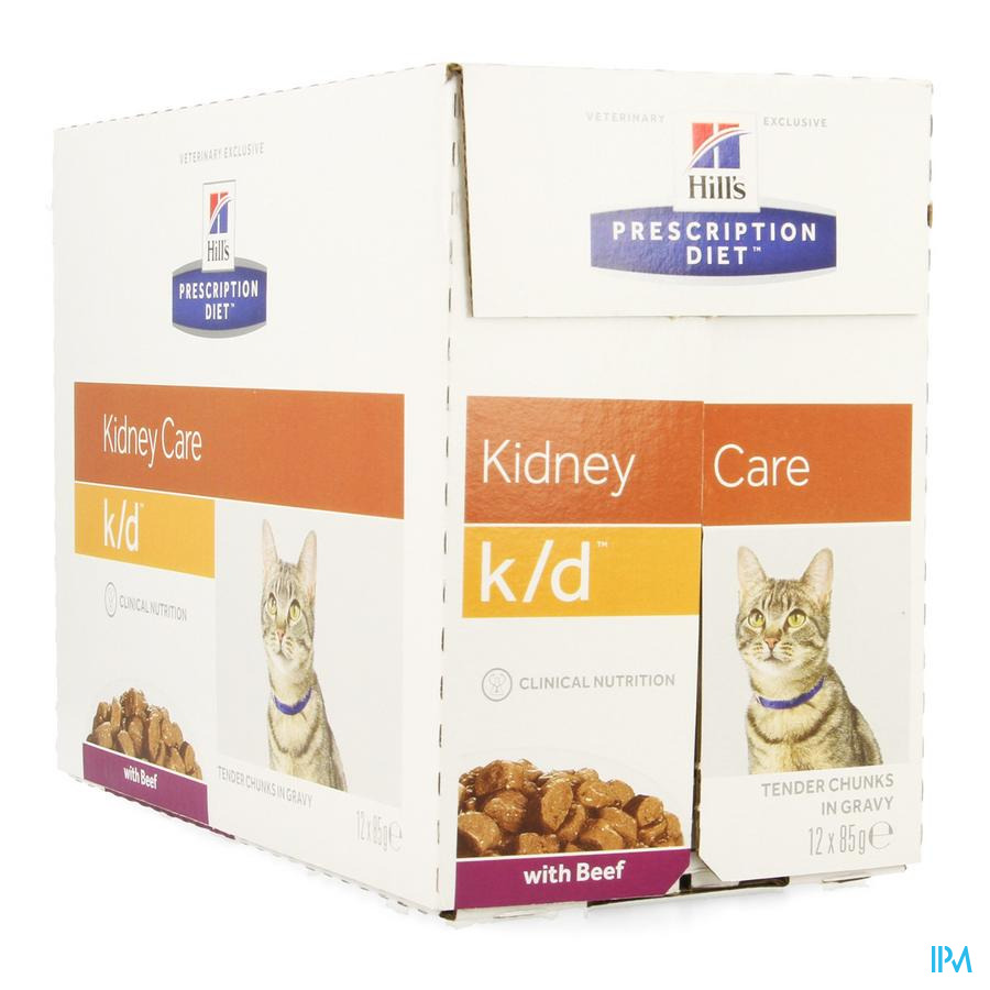 Prescription Diet Feline K/d Beef 12x85g