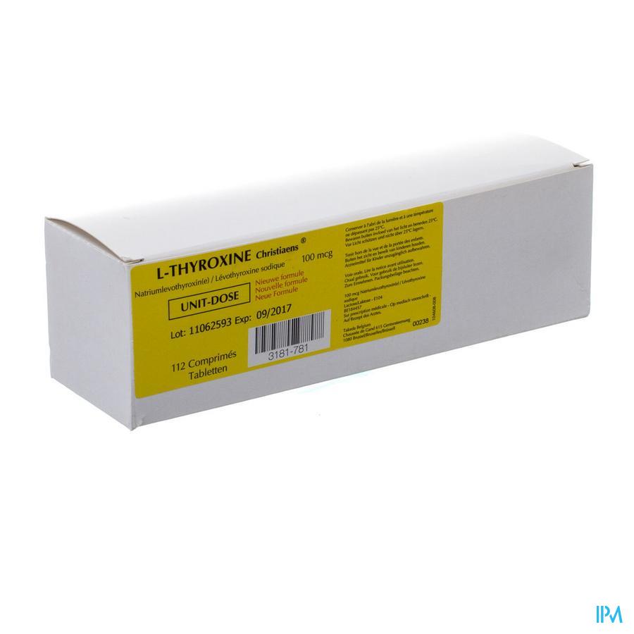 l-thyroxine 112 Tabl 100 Mcg Ud Nm