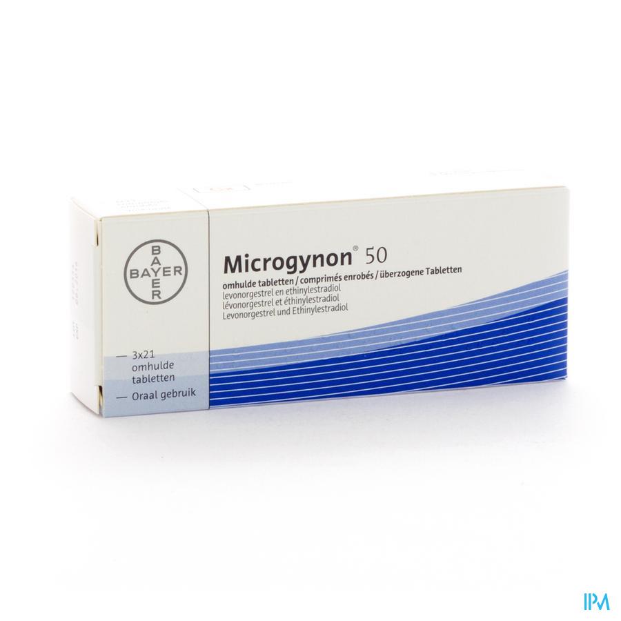 Microgynon 50 Drag 3 X 21
