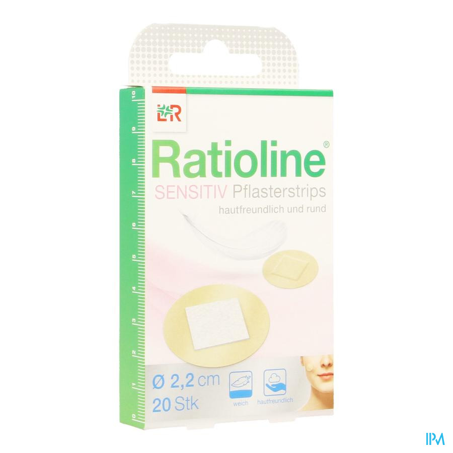 Ratioline Pansement Rond 20 19905