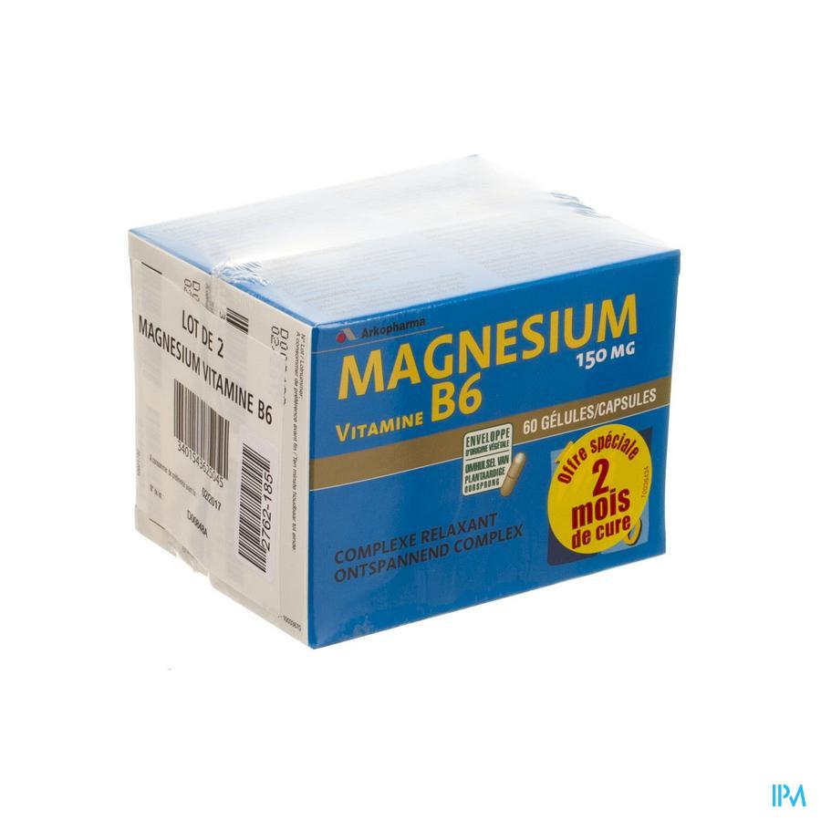 Magnesium B6 Duopack Caps 2x60
