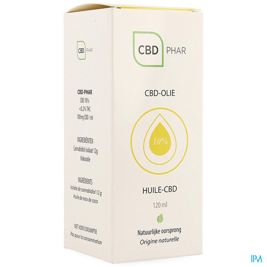Cbd-olie 10% 120ml Cbd-phar