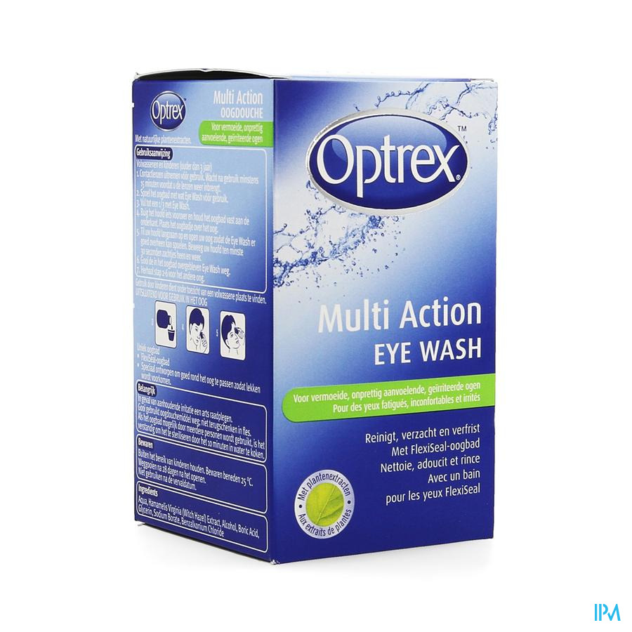 Optrex Eye Wash Bain Oculaire + Oeillere 100ml