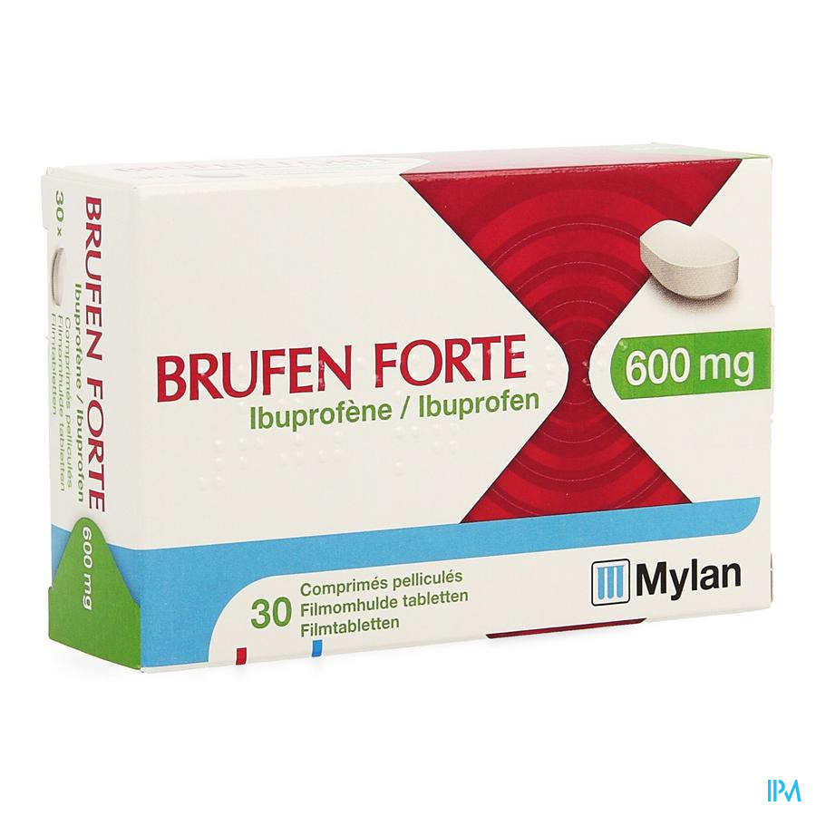 Brufen Forte 600mg Comp Pell 30 X 600mg