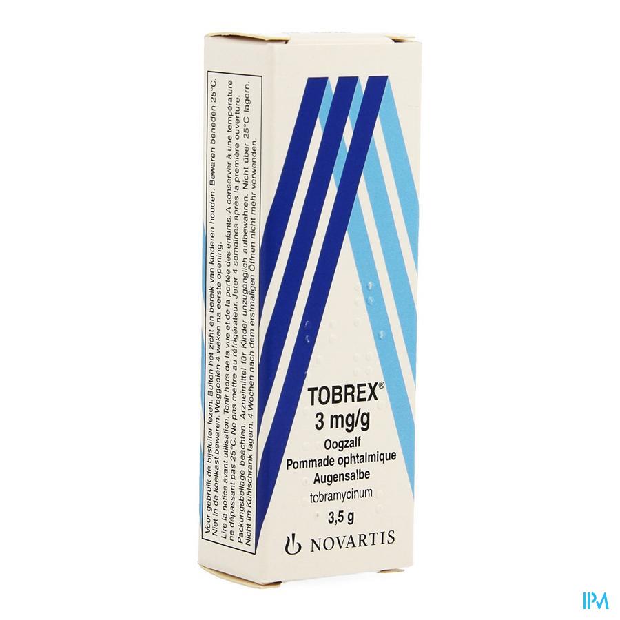 Tobrex Ung Opht 3,5g 0,3%