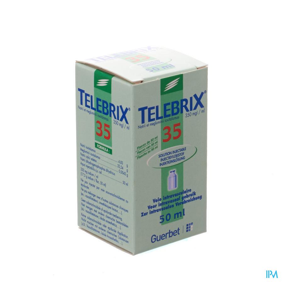 Telebrix 35 Fl Inj 1 X 50ml