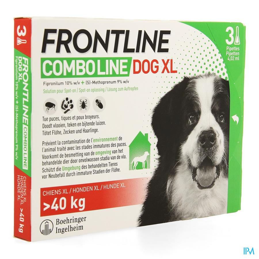 Frontline Combo Line Dog Xl >40kg 3x4,02ml