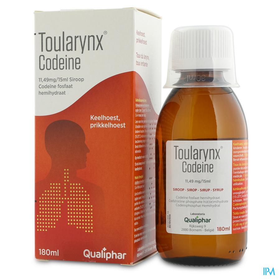 Toularynx Codeine Sir 180ml