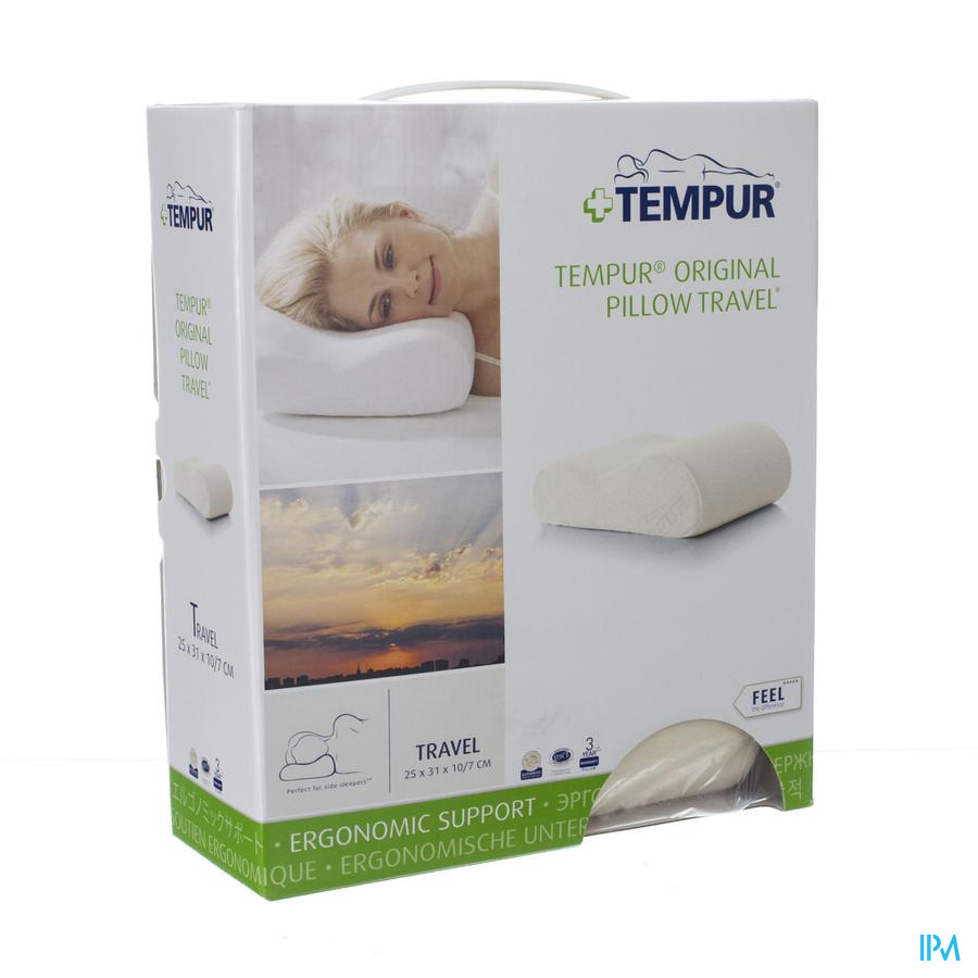 Tempur Reiskussen 25x31cm Tr