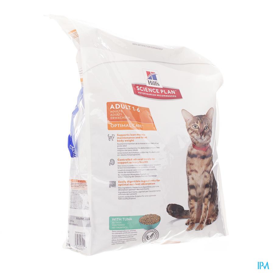 Hills Sc.plan Feline Adult Tuna 10kg 4231n