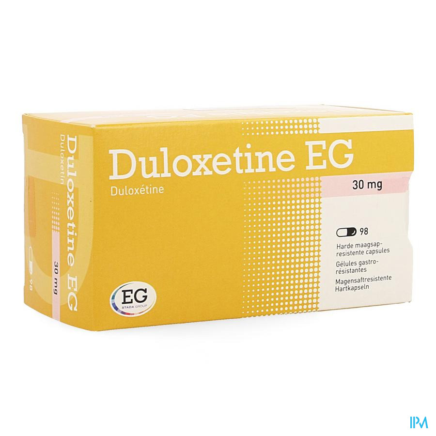 Duloxetine EG 30 mg Maagsapresist Capsule 98