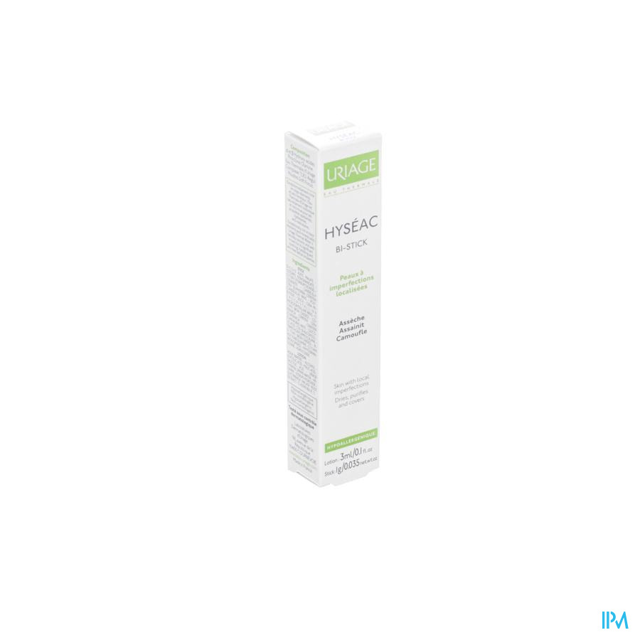 Uriage Hyseac Bi Stick Lotion 3ml + Stick 1g