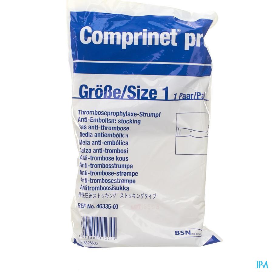Comprinet Pro Thigh Kous A/embolie T1 1paar4633500