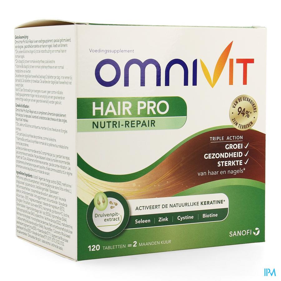 Omnivit Hair Pro Nutri Repair Comp 120