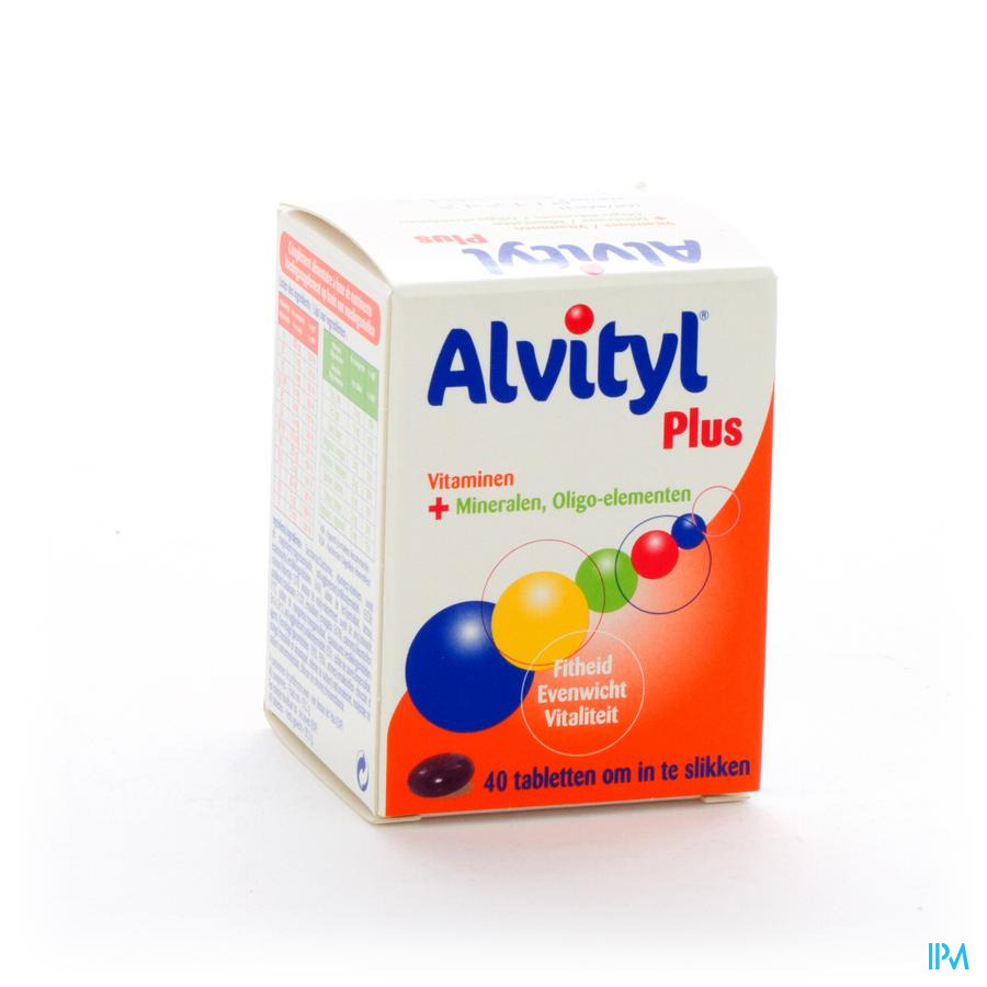Afbeelding Alvityl plus 40comp.