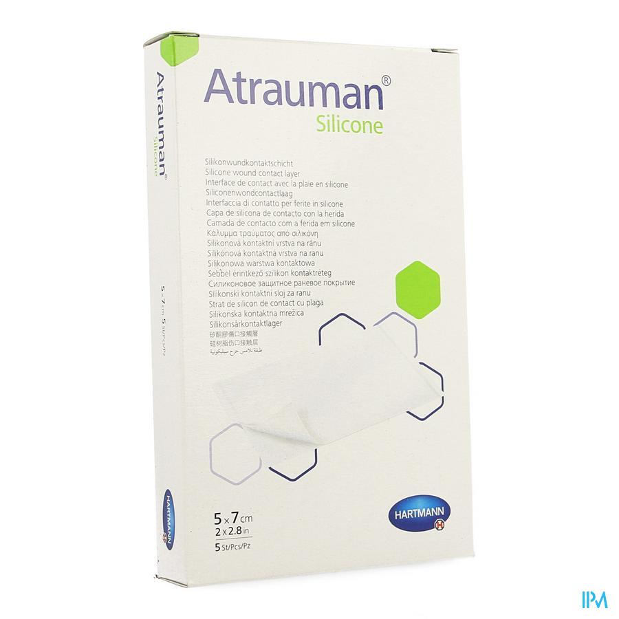 Atrauman Silicone 5x7cm 5 P/s