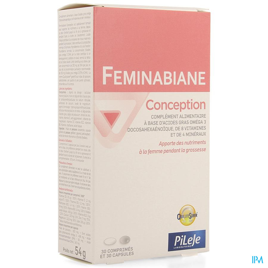 Feminabiane Conception Comp 30 + Caps 30