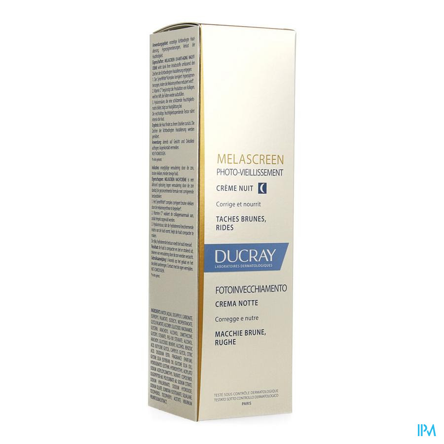 Ducray Melascreen Photo Vieillis. Creme Nuit 50ml