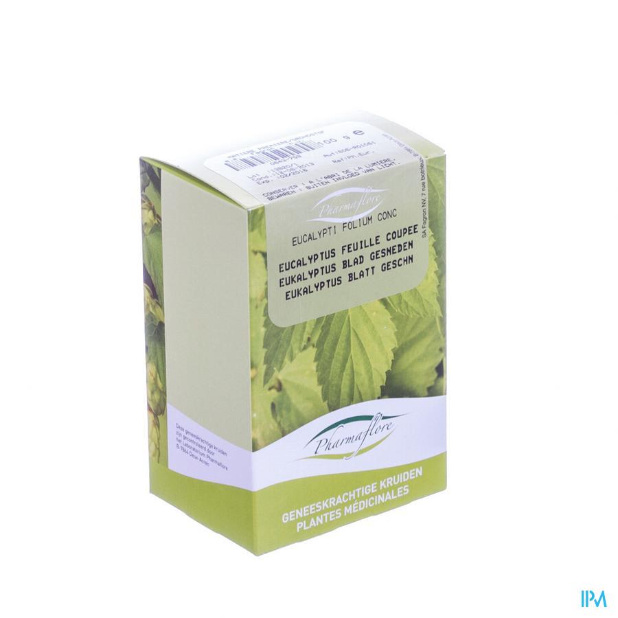 Eucalyptusblad Gesneden Doos 100g Pharmafl