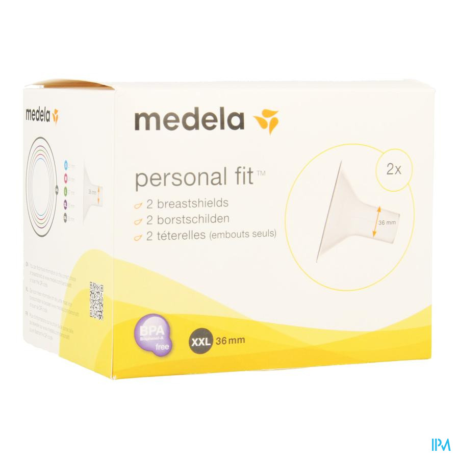 Medela Teterelle Personal Fit Xxl 36mm 2