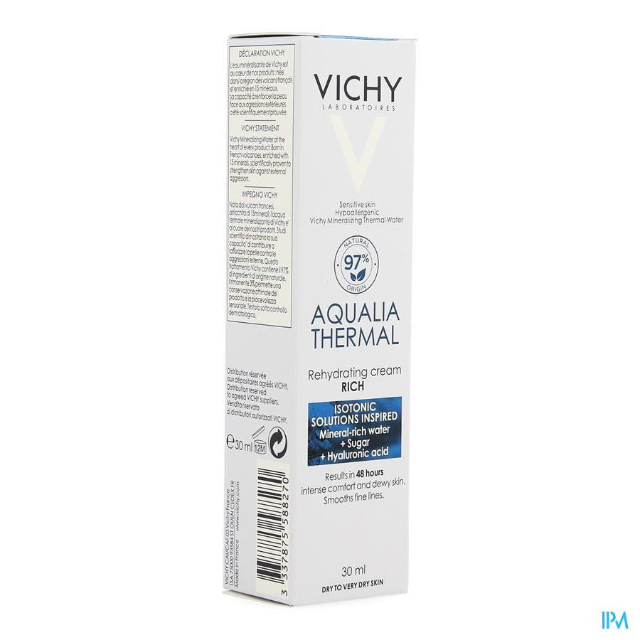 Vichy Aqualia Creme Riche Reno 30ml