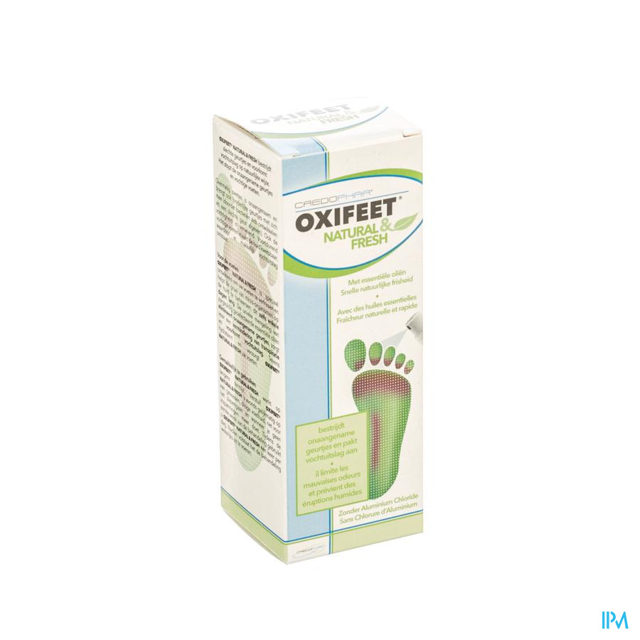 Oxifeet Natural&fresh Spray 50ml Credophar