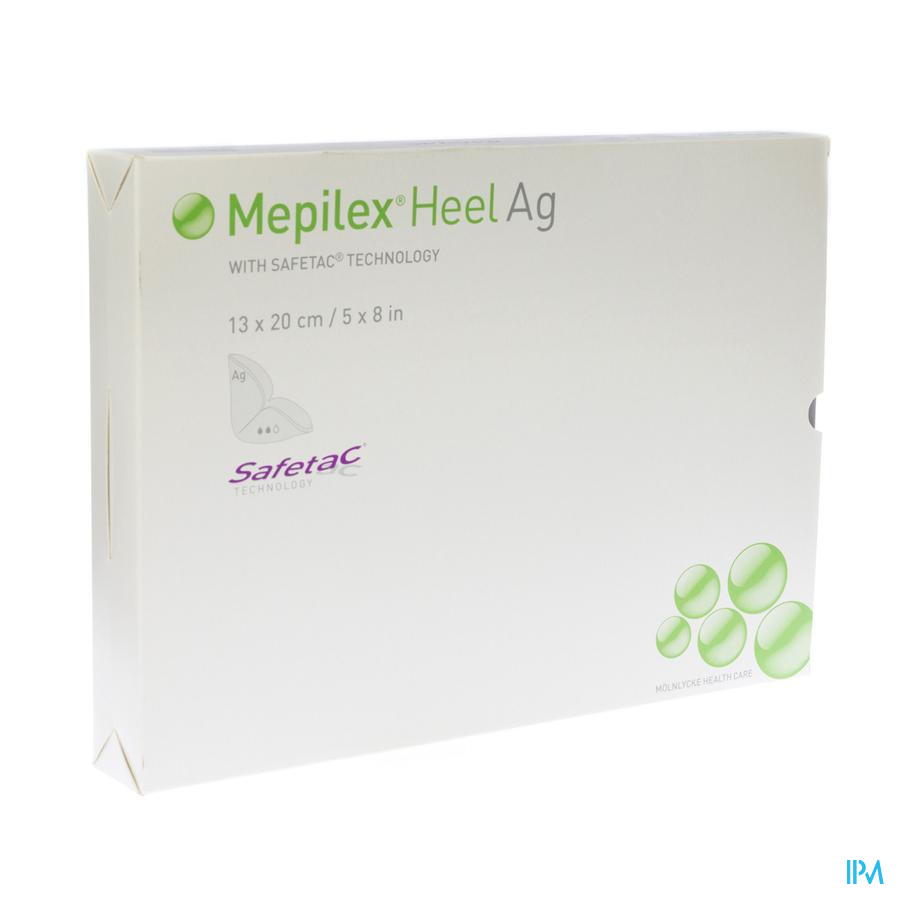 Mepilex Heel Ag Verband Steriel 13x20cm 5 388100