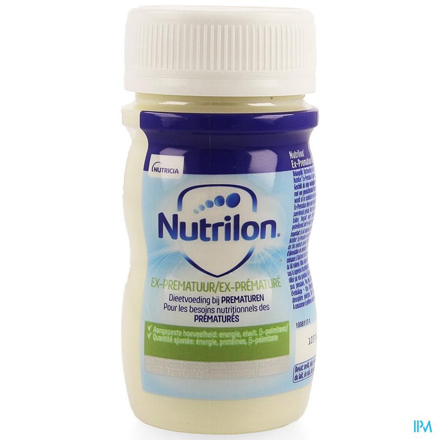 Nutrilon Ex-prematuur Mini Flesje vloeibaar 90ml Volledige zuigelingenvoeding