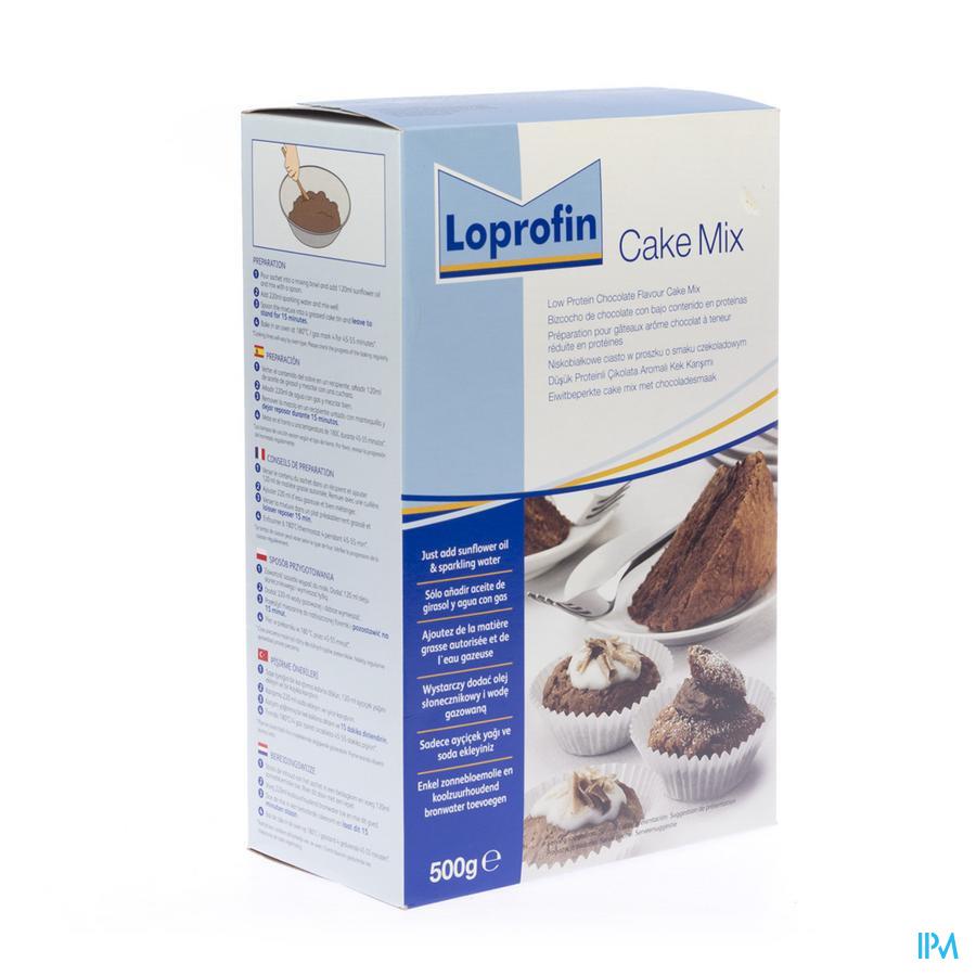 Loprofin Cake Mix Chocolat Poudre 500 gr