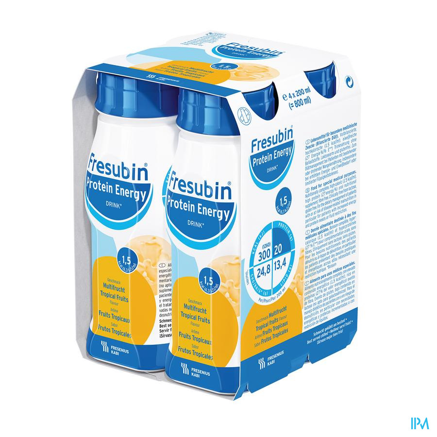 Fresubin Protein Energy Drink Fr.tropic.fl 4x200 ml