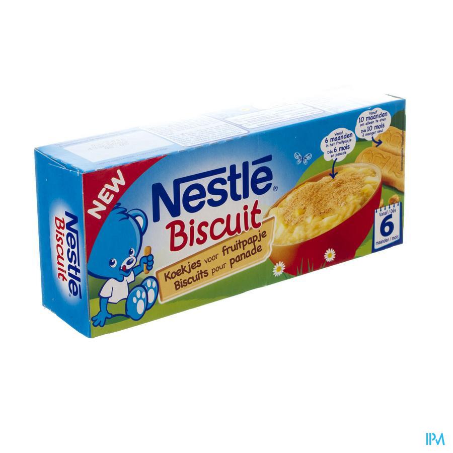 Nestle Biscuits Fruitpapje Zakje 4x45g