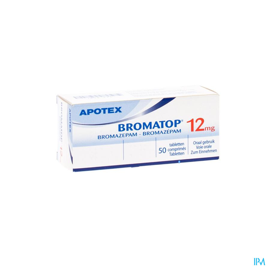 Bromatop 12mg Apotex Comp Sec 50 X 12mg