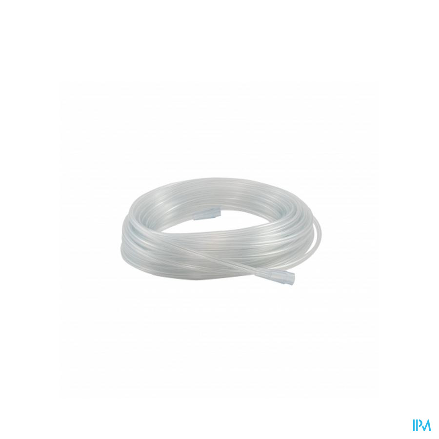 O2-supply Safety Tubing 10,00m 3 Star Lumen Z/pht