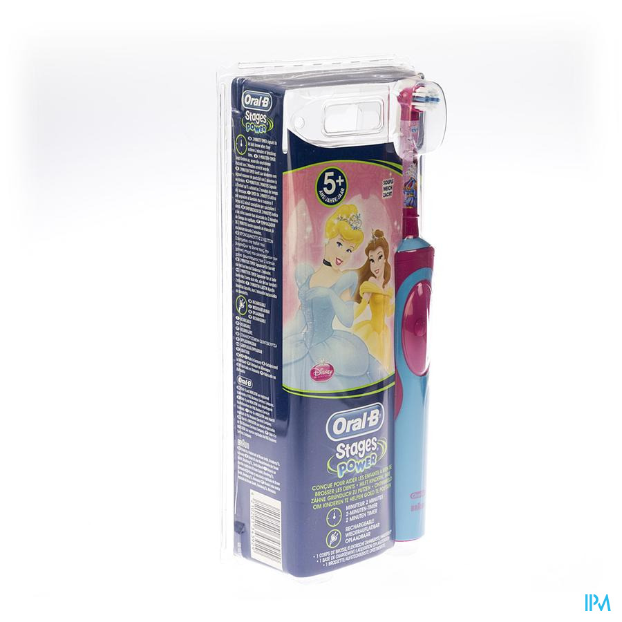 ORAL B TANDENB ELECTR.D12513K KIDS STAGES VITALITY