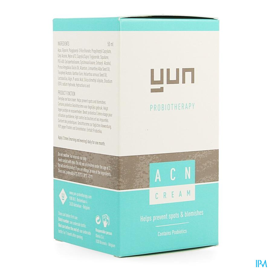 Yun Acn Cream A/acne For Normal-oily Skin 50ml