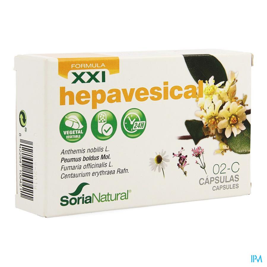 Soria 2-C Hepavesical XXI 30 caps