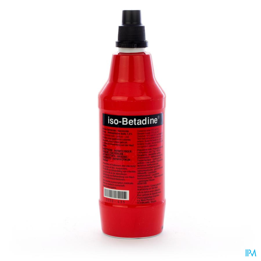 Iso Betadine Zeep Vloeibaar 500 ml