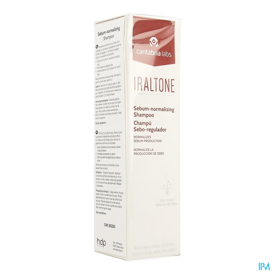 Iraltone Sebum Normalizing Sh 200ml