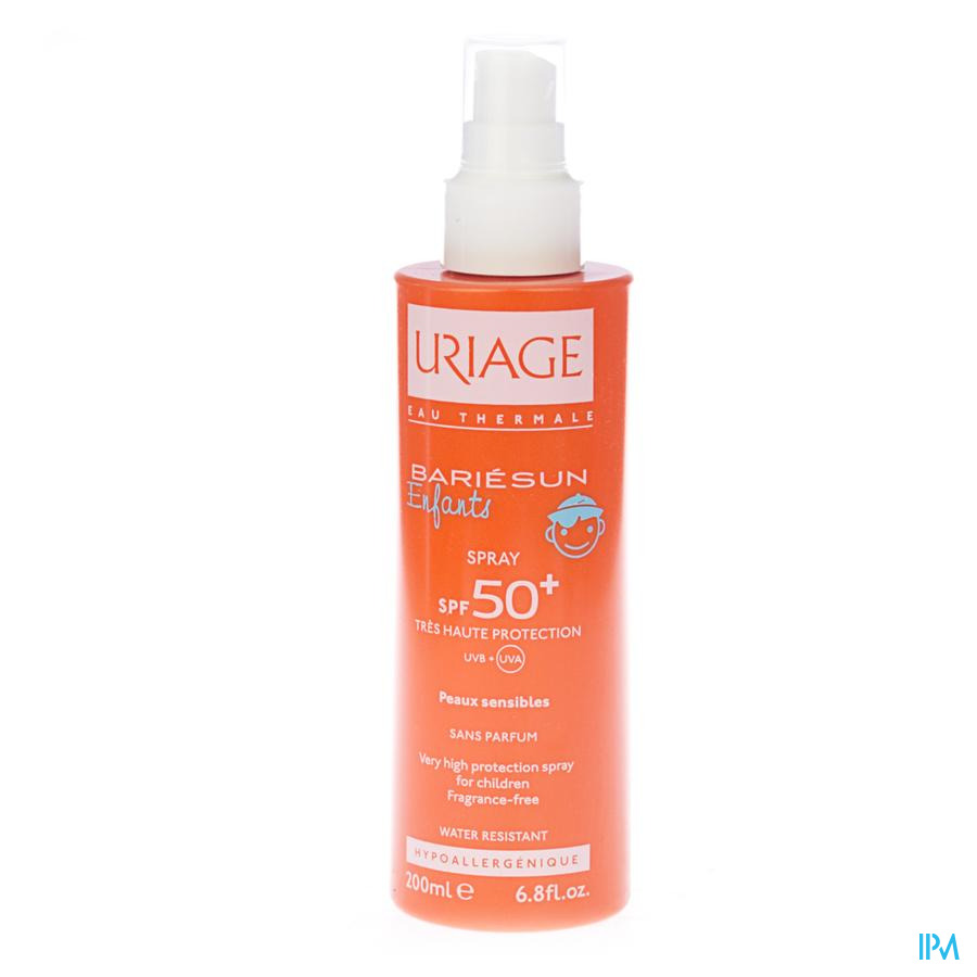 Uriage Bariesun Kind Spray Ip50+ Melk 200ml