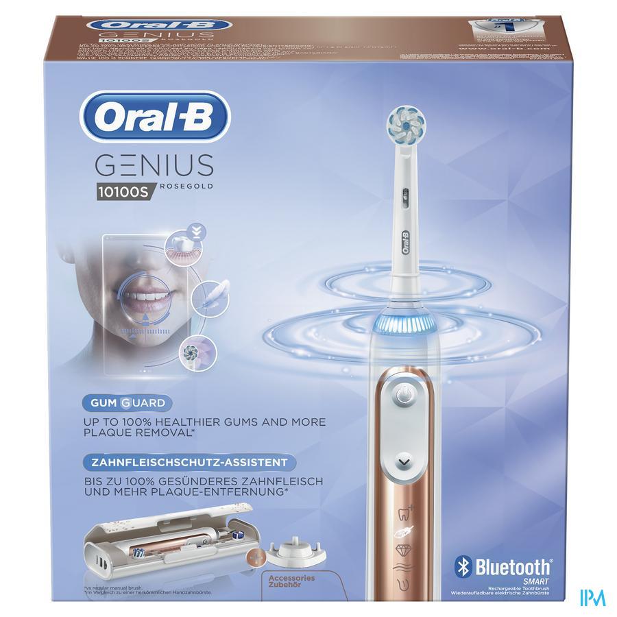 Oral-b Tandenborstel Genius 10100s Rosegold