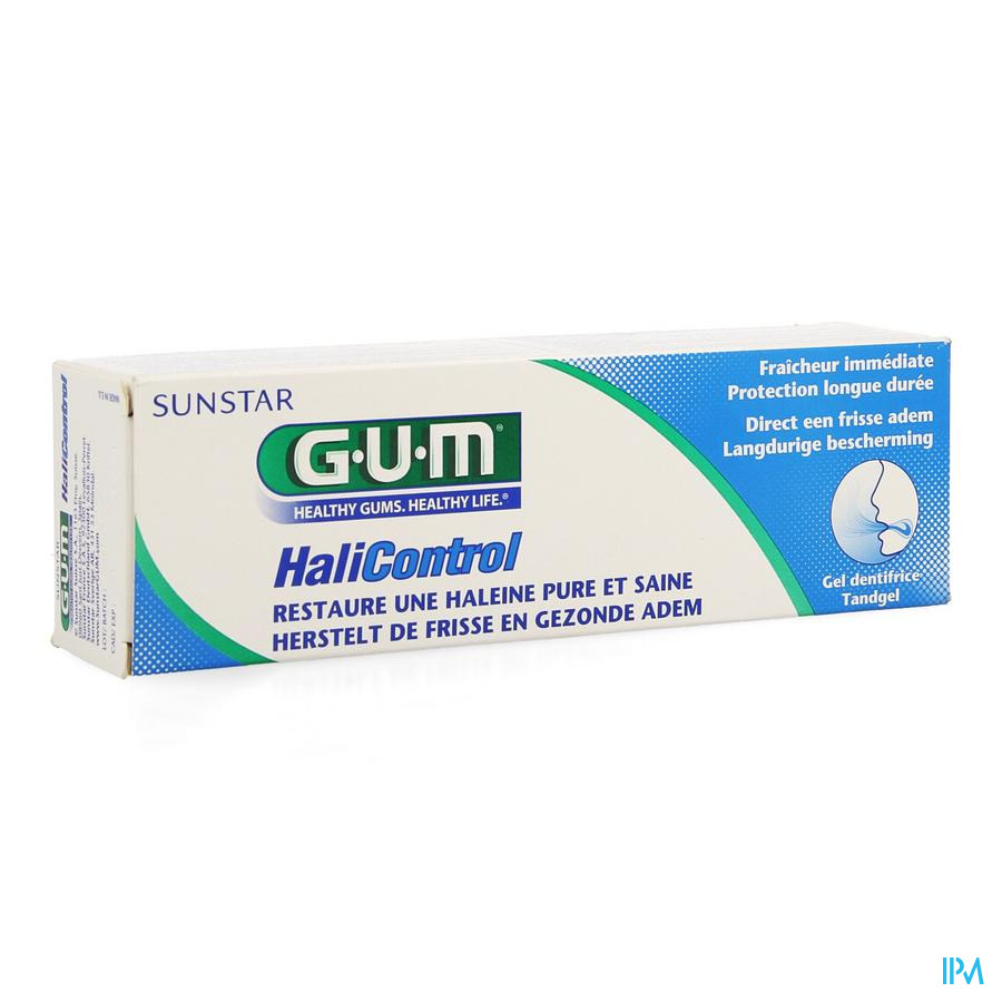 Gum Halicontrol Tandpasta Gel 75ml 3040