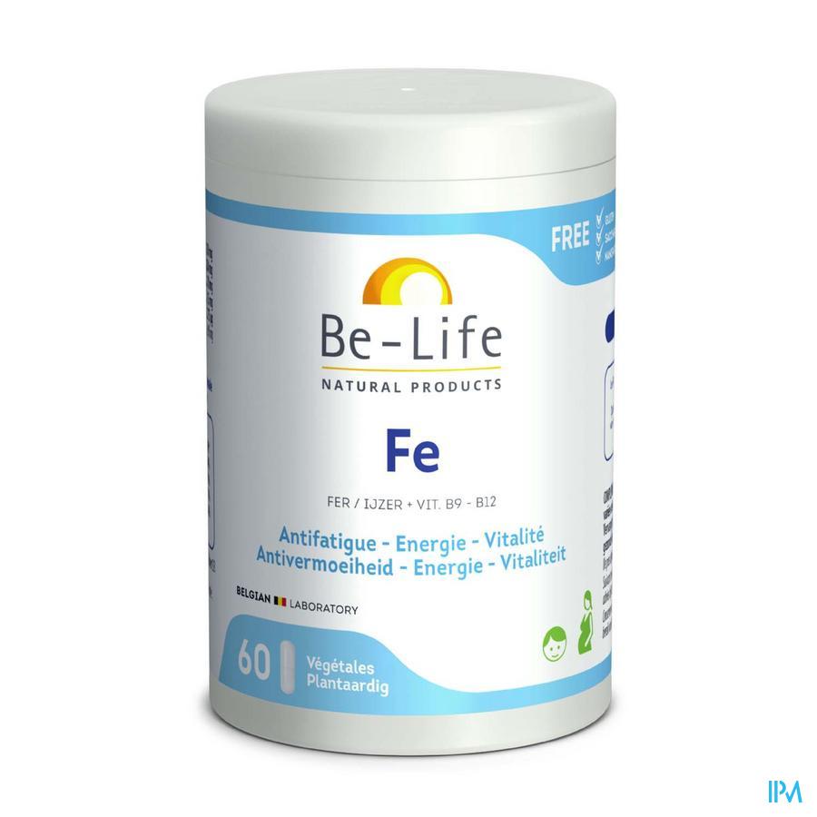 Fe Minerals Be Life Nf Gel 60x100mg