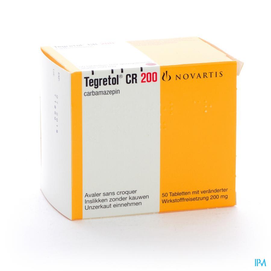Tegretol Cr Divitabs 50 X 200mg