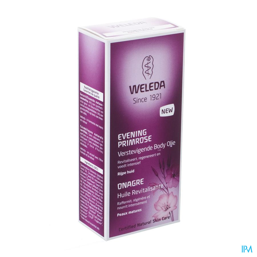 Weleda Evening Primrose Body Olie Verstevig. 100ml