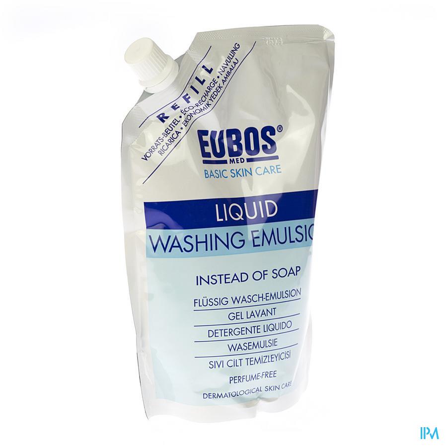 Eubos Savon Liquid Bleu N/parf Refill 400ml