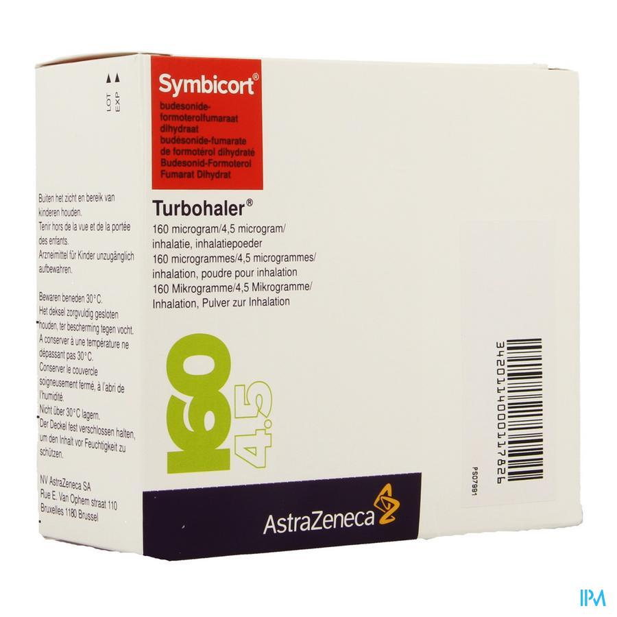 Symbicort Turbohaler 160mcg/4,5mcg Doses 3x120